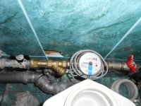 Установка счетчика холодной воды