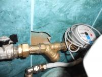 Установка счетчиков холодной воды