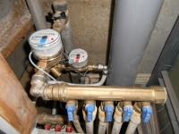 Установка приборов учета воды в г. Москвы